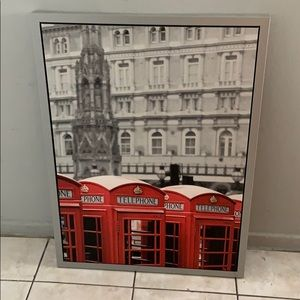 Vilshult Ikea London with red phone booths